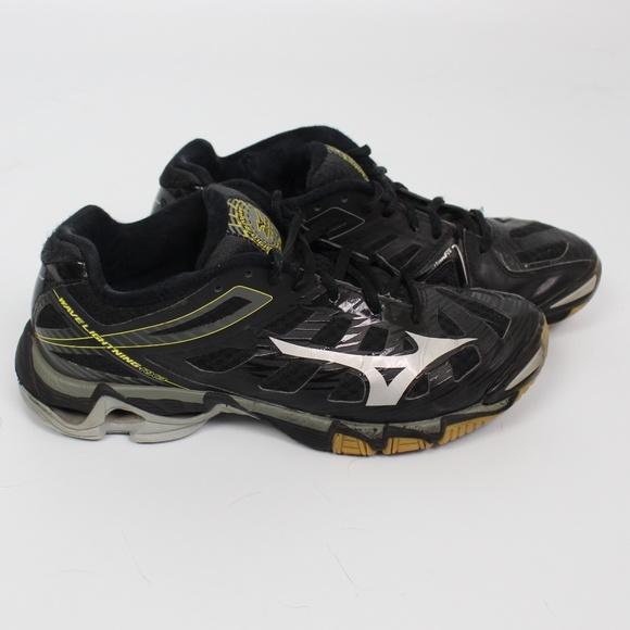 mizuno volleyball shoes wave lightning negro